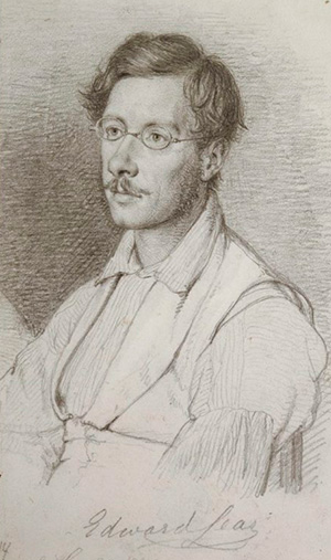 Lear Portrait by Wilhelm Marstrandlo
